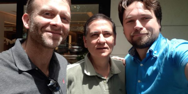 Доктор Вадим Семенцов, профессор Коимбра, и доктор Sven Zimmer из Берлина